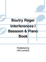 Interferences I Sheet Music by Roger Boutry