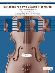 Concerto for Two Violins in D Major Sheet Music by Antonio Vivaldi