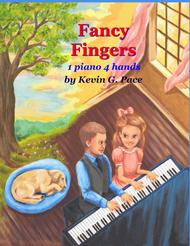 Fancy Fingers: Easy Sacred Piano Duets Sheet Music by Kevin G. Pace (ASCAP)