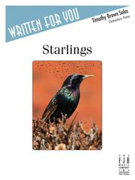 Starlings (NFMC) Sheet Music by Timothy Brown