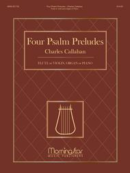 Four Psalm Preludes: Flute or Violin
