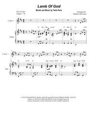 Lamb Of God (Duet for C-Instruments) Sheet Music by Twila Paris