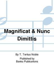 Magnificat & Nunc Dimittis Sheet Music by T. Tertius Noble