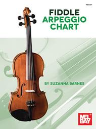Fiddle Arpeggio Chart Sheet Music by Suzanna Barnes