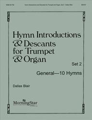 Hymn Introductions and Descants for Trumpet and Organ - Set 2 Sheet Music by Dallas Blair