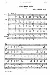 O Lord We Trust Alone In Thee Sheet Music by George Frideric Handel