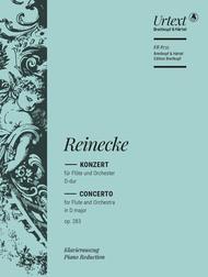 Flute Concerto in D major Op. 283 Sheet Music by Carl Reinecke