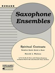 Spiritual Contrasts Sheet Music by Harold L. Walters