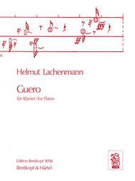 Guero Sheet Music by Helmut Lachenmann