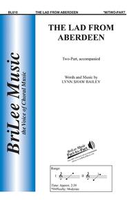 The Lad from Aberdeen Sheet Music by Lynn Shaw Bailey