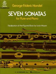 Seven Sonatas for Flute and Piano Sheet Music by George Frideric Handel