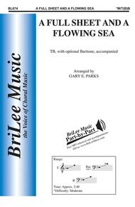 A Full Sheet and a Flowing Sea Sheet Music by Traditional