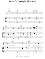Where Do You Go To (My Lovely) Sheet Music by Peter Sarstedt