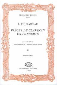 Pieces de clavecin en concerts Sheet Music by Jean-Philippe Rameau
