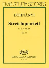 Streichquartett Nr.3
