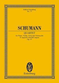 Piano Quartet Eb major op. 47 Sheet Music by Robert Schumann