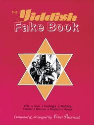 The Yiddish Fake Book Sheet Music by Velvel Pasternak