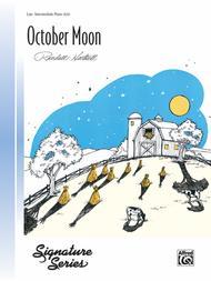 October Moon Sheet Music by Randall Hartsell